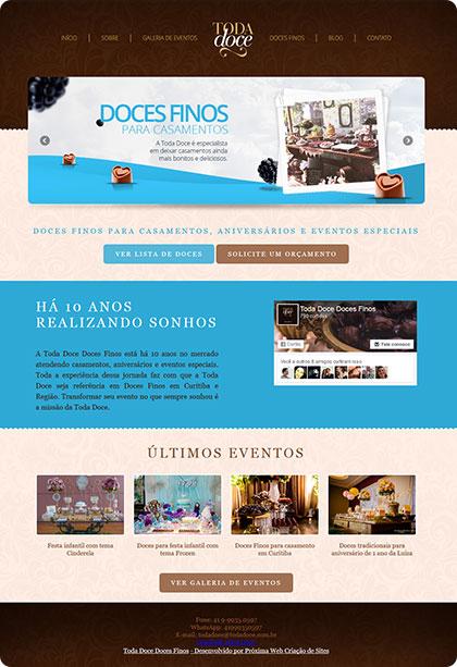 Construção de website